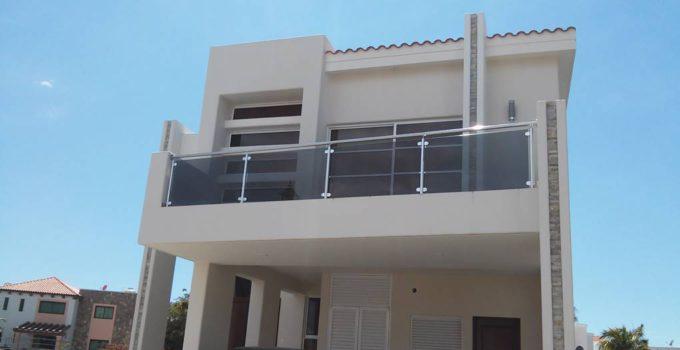 balcon con vidrio templado