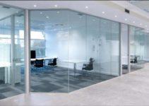 muros de vidrio templado