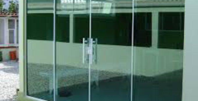 Puertas de vidrio templado