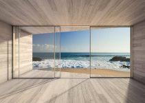 ventanas de pvc para casas de playa